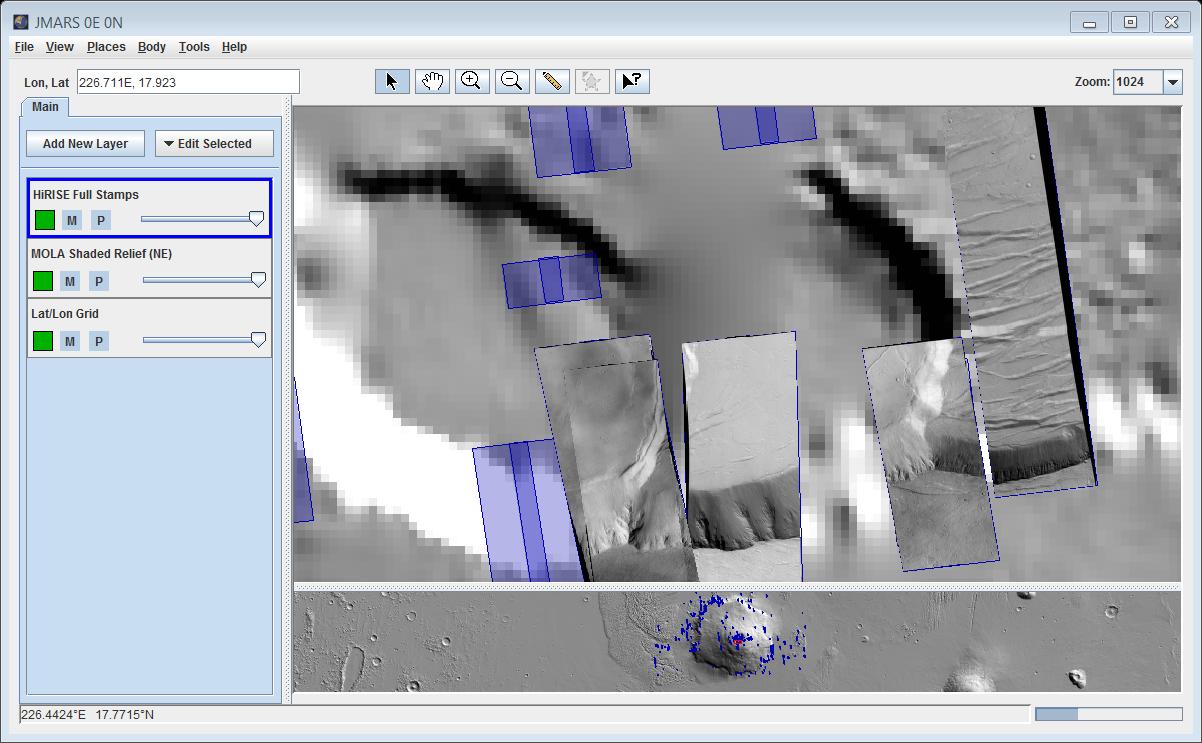High resolution imaging science experiment hirise stamp layer hirisecloseupg baditri Images
